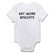 Eat more Biscuits Infant Bodysuit