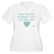 Earth Art Plus Size T-Shirt