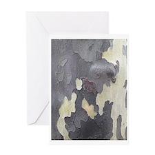 Autumn Tree Bark Greeting Cards