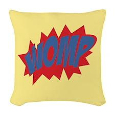 Womp Woven Throw Pillow