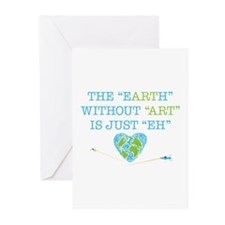 Earth Art Greeting Cards