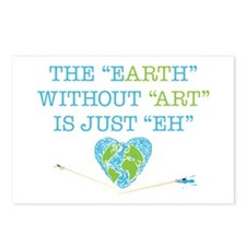 Earth Art Postcards (Package Of 8)