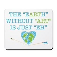 Earth Art Mousepad