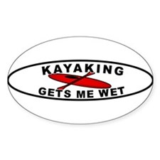 wet-whitebumpersticker Decal