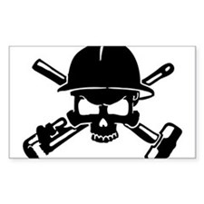 Oilfield Skull Decal