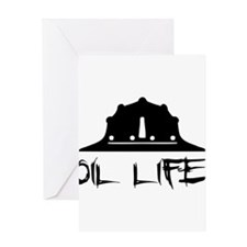 oillife2 Greeting Cards