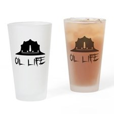 oillife2 Drinking Glass