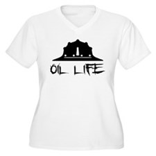 oillife2 Plus Size T-Shirt