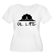 oillife2 Plus Size T-Shirt