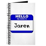hello my name is jaren Journal
