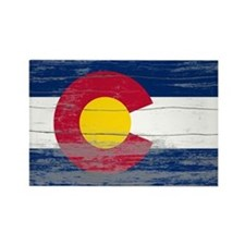 Colorado Old Paint Rectangle Magnet