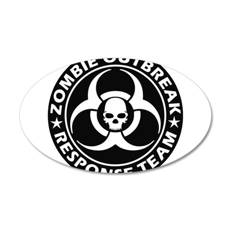 Zombie Outbreak Response Team Wall Decal