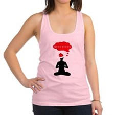 Christmas Yoga Racerback Tank Top