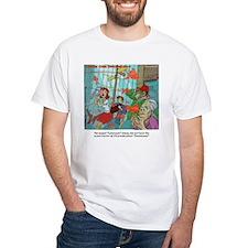 Carpnado Scary Goldfish Film T-Shirt