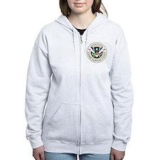 US Zombie Response Agency Zip Hoodie