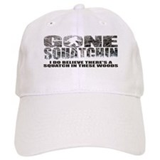 Gone Squatchin *Winter Woods Edition* Baseball Baseball Cap