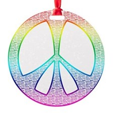 Round Ornament - Peace