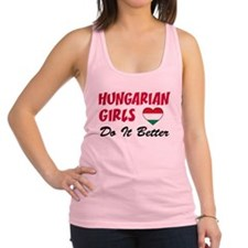 Hungarian Girls Do It Better Racerback Tank Top