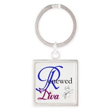 ReNewed Diva Collection Square Keychain