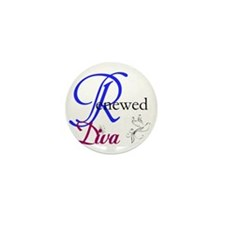 ReNewed Diva Collection Mini Button