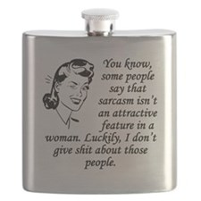 Sarcasm Isnt An Attractive Feature Flask