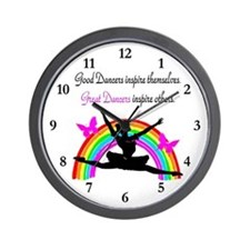 DAZZLING DANCER Wall Clock