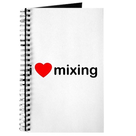 I Heart Mixing Journal