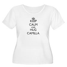Keep Calm and HUG Camilla Plus Size T-Shirt
