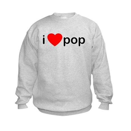 I Heart Pop Kids Sweatshirt