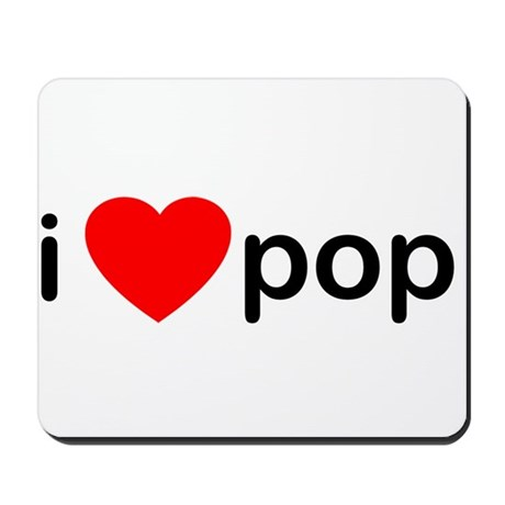 I Heart Pop Mousepad