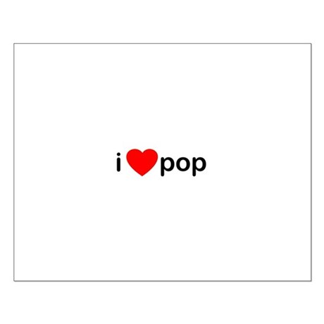 I Heart Pop Small Poster