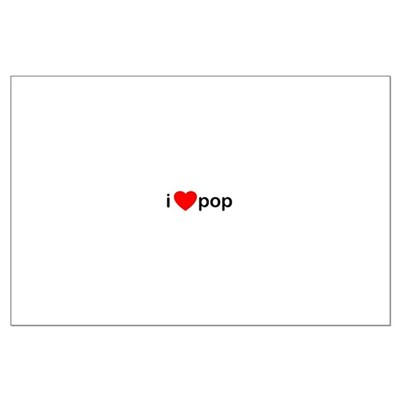 I Heart Pop Large Poster