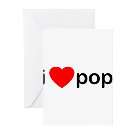 I Heart Pop Greeting Cards (Pk of 10)