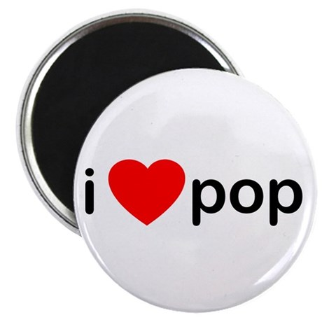 "I Heart Pop 2.25"" Magnet (10 pack)"