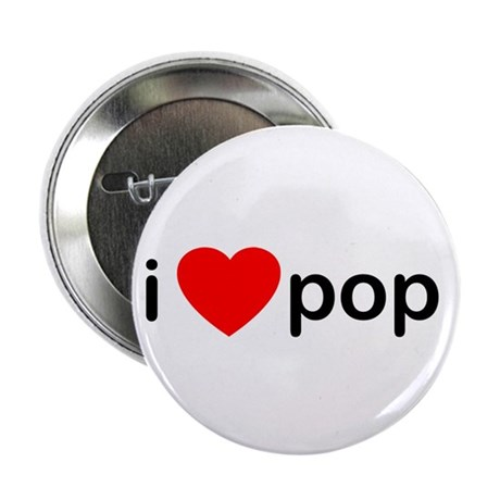"I Heart Pop 2.25"" Button (10 pack)"