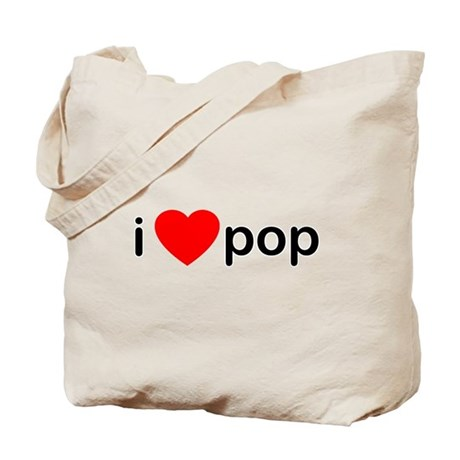 I Heart Pop Tote Bag