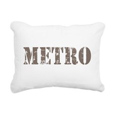 Metro Rectangular Canvas Pillow