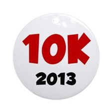 2013 10K Ornament (Round)