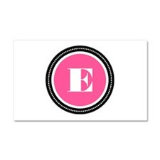 Pink Car Magnet 20 x 12