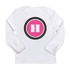 Pink Long Sleeve Infant T-Shirt