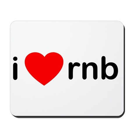 I Heart RNB Mousepad