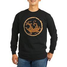 dragon_2_brown Long Sleeve T-Shirt