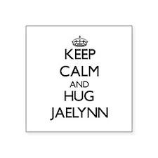 Keep Calm and HUG Jaelynn Sticker