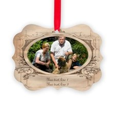 Personalizable Edwardian Photo Frame Picture Ornam