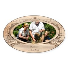 Personalizable Edwardian Photo Frame Decal