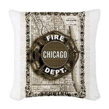 Chicago-20.png Woven Throw Pillow