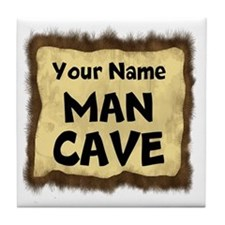 Custom Man Cave Tile Coaster