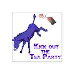 kick-out-tea-party Sticker