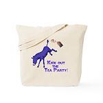 kick-out-tea-party Tote Bag