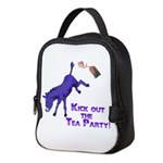 kick-out-tea-party Neoprene Lunch Bag